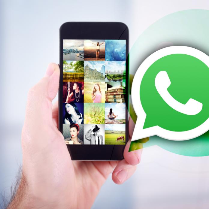 El truco para encontrar una conversación en whatsapp con una foto