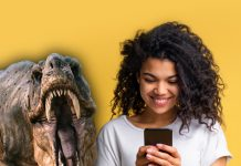 Cómo ver los dinosaurios 3D y realidad aumentada en tu celular. *Foto: Redacción