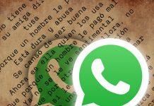 """WhatsApp: Cómo escribir con letra """"retro"""""""
