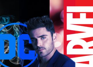 Zac Efron Marvel DC Superhéroes
