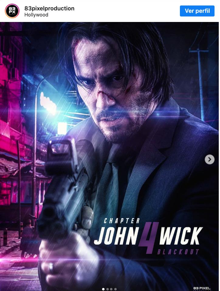 poster de John Wick 4