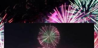 Juegos Olímpicos Tokio 2020 fuegos artificiales