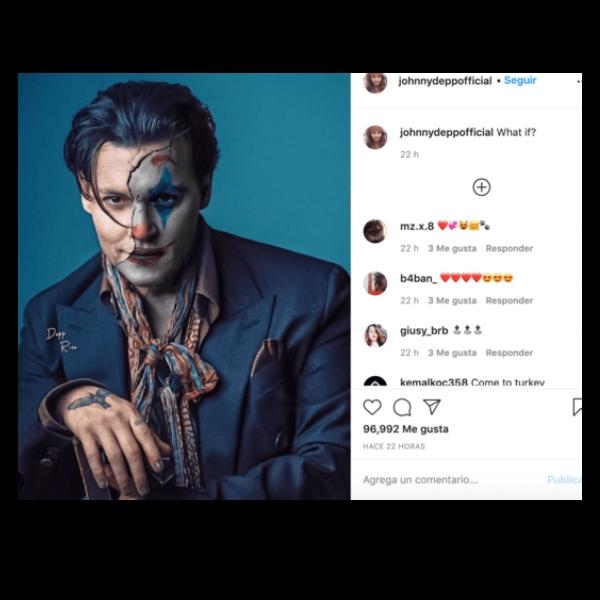 Johnny Depp como Joker