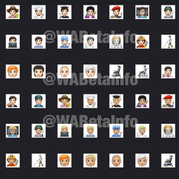 138 nuevos emojis de WhatsApp en Android