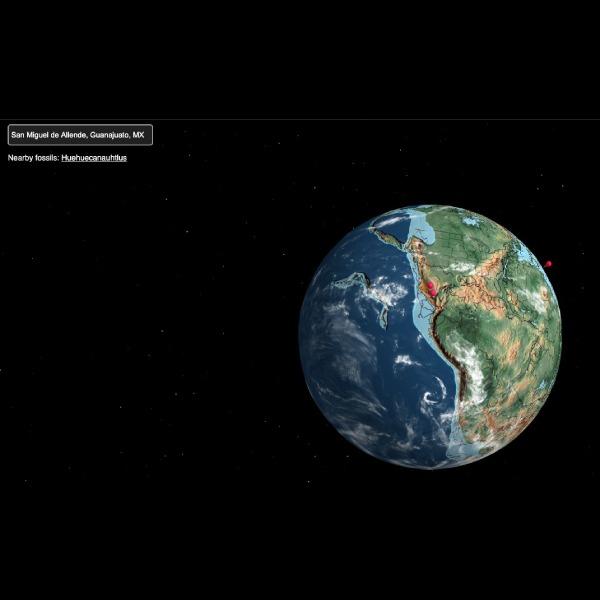 Ancient Earth mapa muestra dónde estaba tu casa con la Pangea