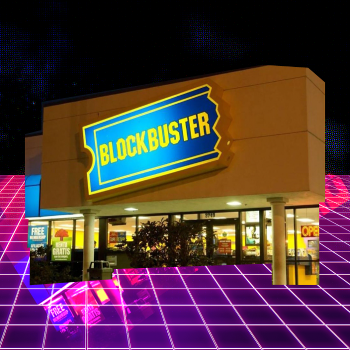 Blockbuster hotel Airnb películas 90