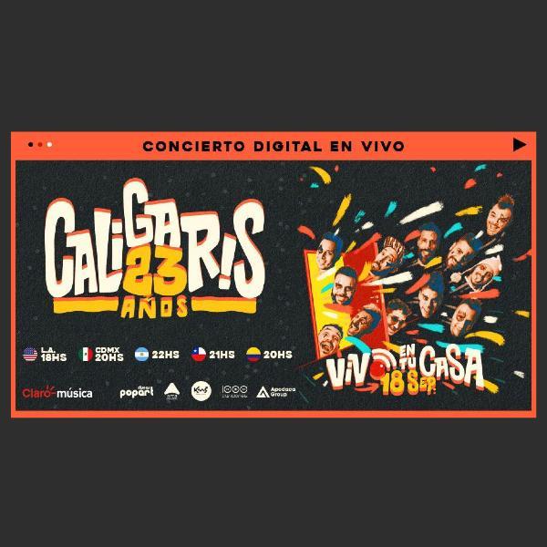 concierto de Cagliaris en Sala Estelar