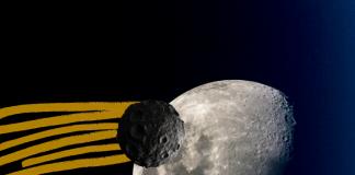 Video del asteroide que choca con la Luna