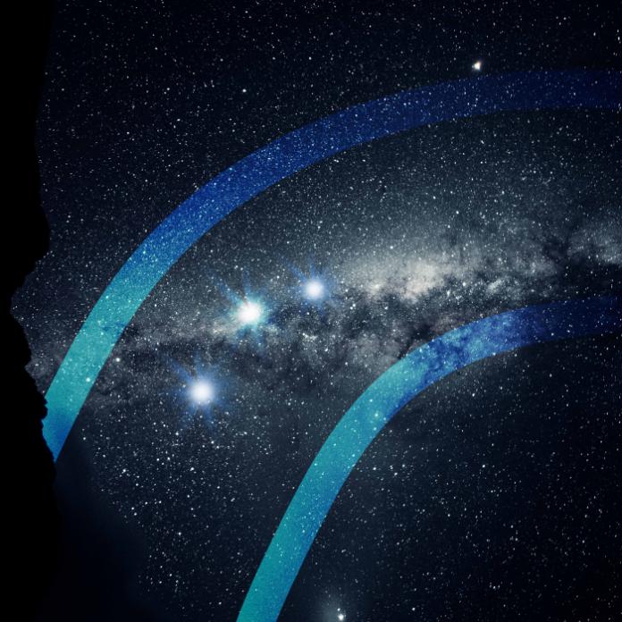 Así lucieron Luna, Saturno y Júpiter juntos en el cielo. *Foto: Redacción