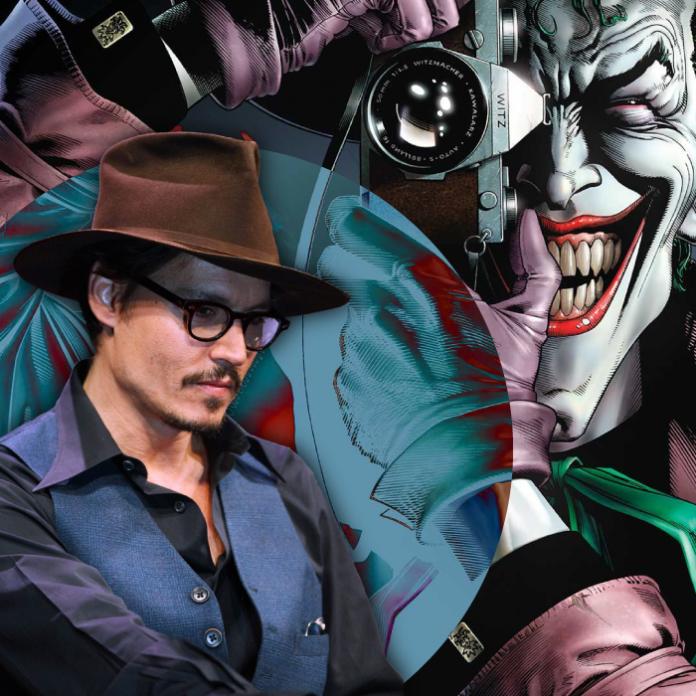 Johnny Depp Joker The Batman