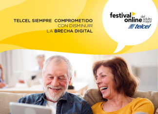 Festival Online del Adulto Mayor Telcel 2020