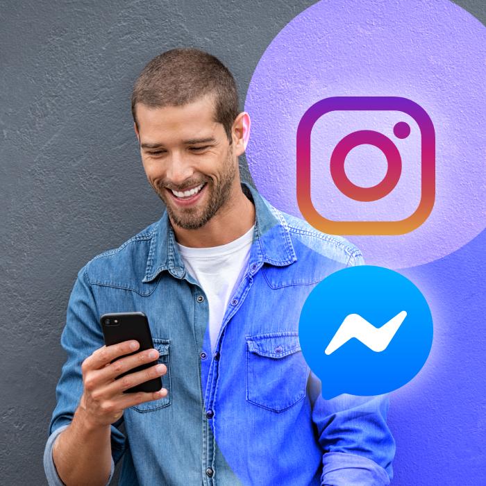 Facebook comienza la unificación! Instagram ya integra Messenger
