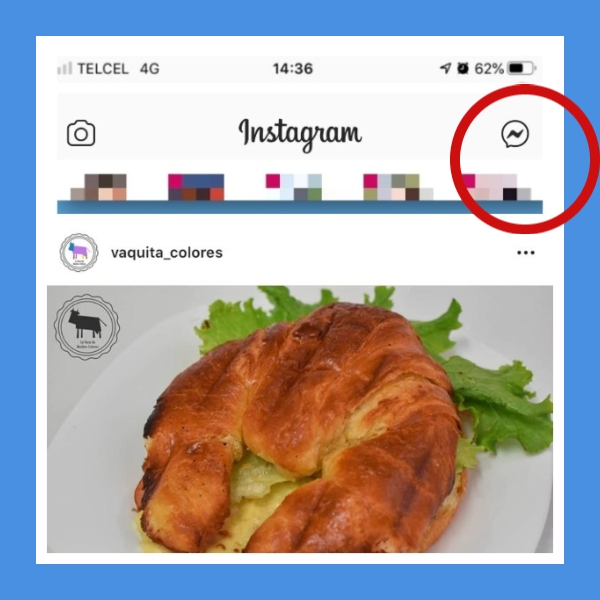 Instagram ya integra facebook Messenger