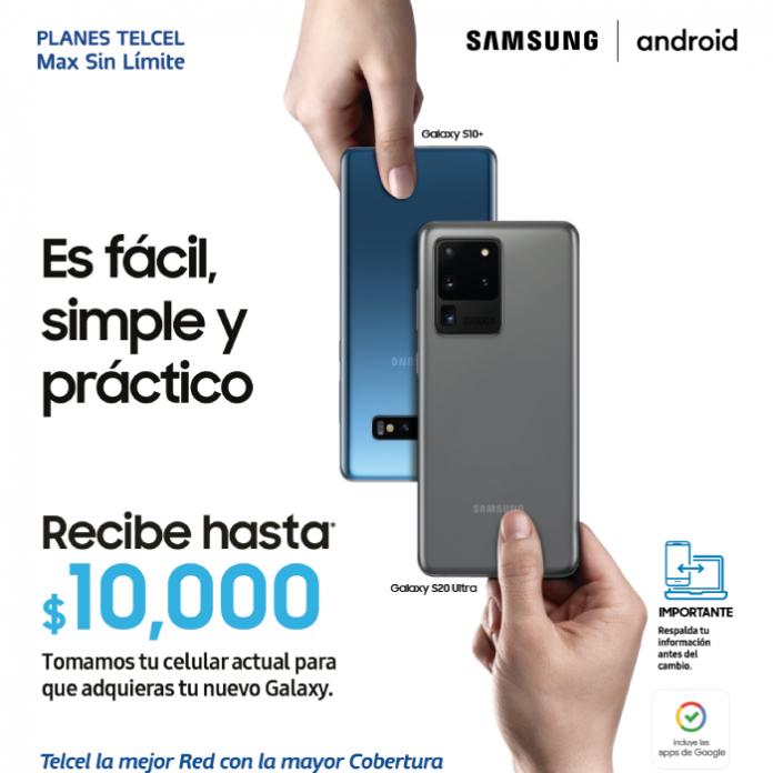 promocion Samsung Cambia tu Smartphone