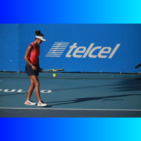 Leylah Fernández en The Top Seed Open. *Foto: Telcel