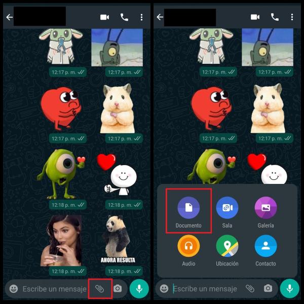 WhatsApp enviar fotos videos sin perder calidad