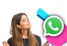 WhatsApp estados como compartir música con letra