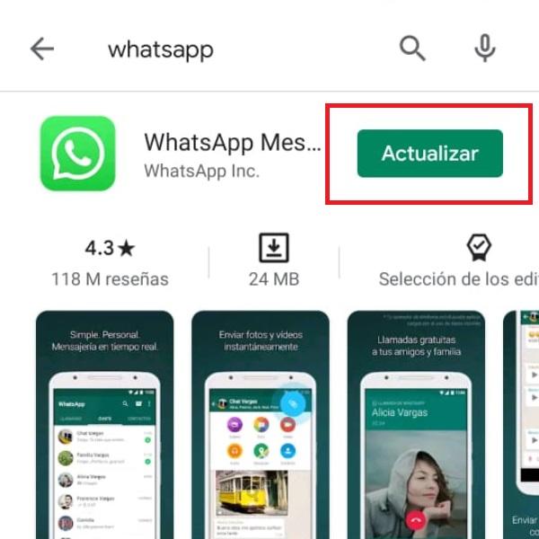 WhatsApp nuevo diseño