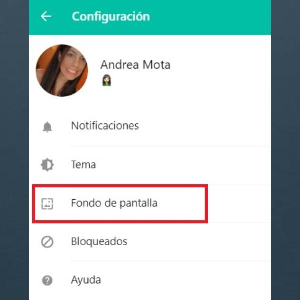 WhatsApp Web cambiar color de fondo