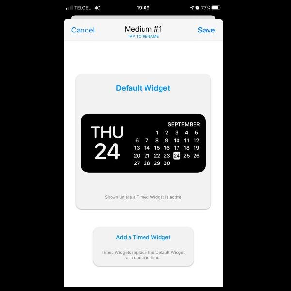 como crear wigets en iphone con widgetsmith