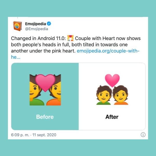 nuevos emojis de Android 11