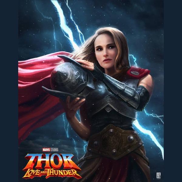 cómo lucirá Natalie Portman en 'Love and Thunder' como la nueva Thor.