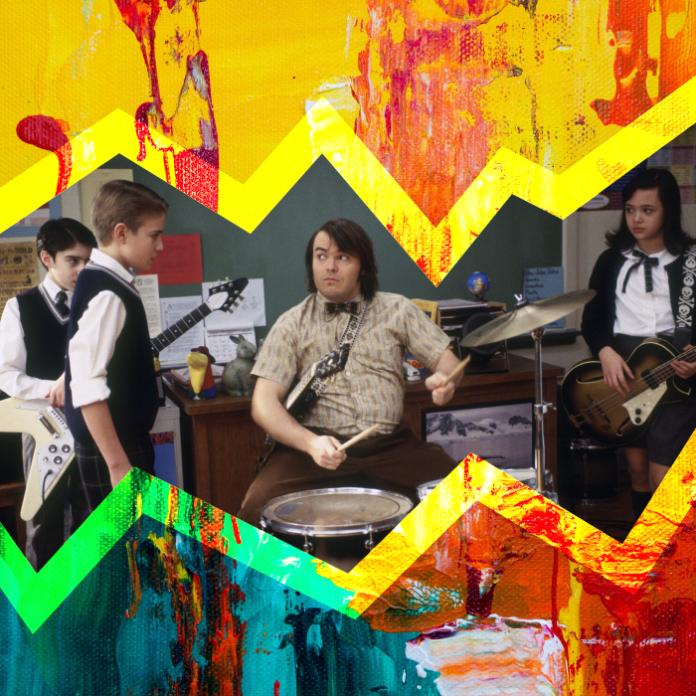 Escuela de Rock película Jack Black lecciones