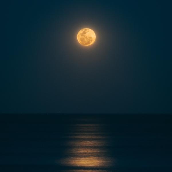 Gran luna llena de octubre 2020