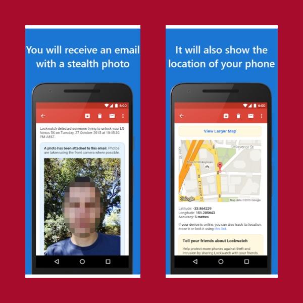 Haz que tu celular tome foto a quien quiera desbloquearlo o ver tu WhatsApp