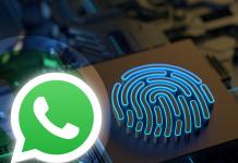WhatsApp Web huella dactilar iniciar sesión