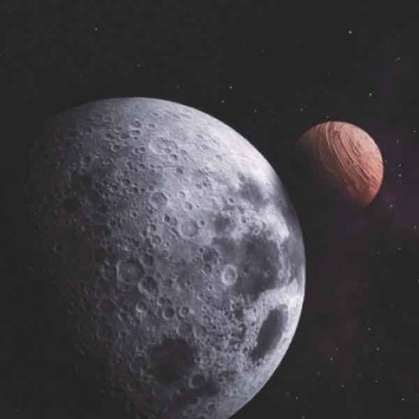 sistema solar superficie lunar