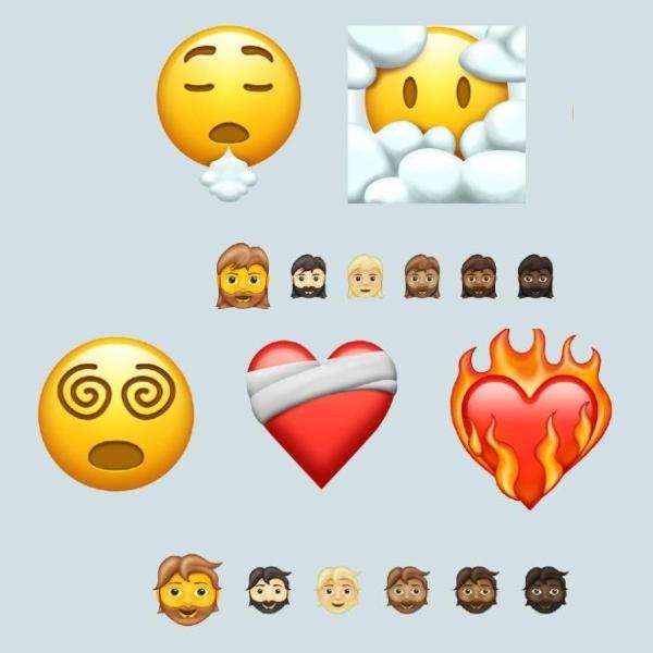 217 nuevos emojis que llegaran en 2021