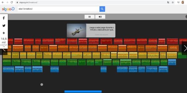 Secretos trucos Google atari breakout