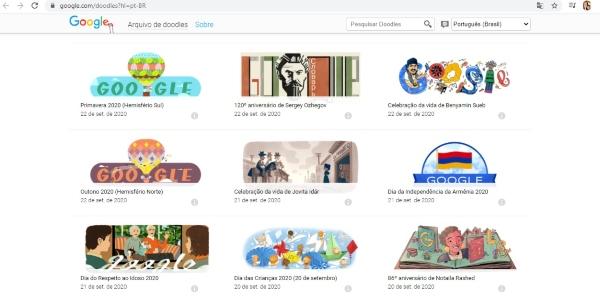 Secretos trucos Google juega con todos los doodles