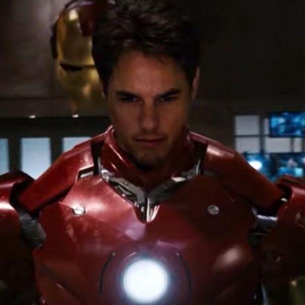 Tom Cruise Iron Man Marvel Robert Downey Jr.