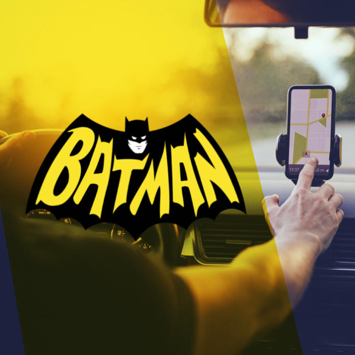 Batman nuevo tema Waze