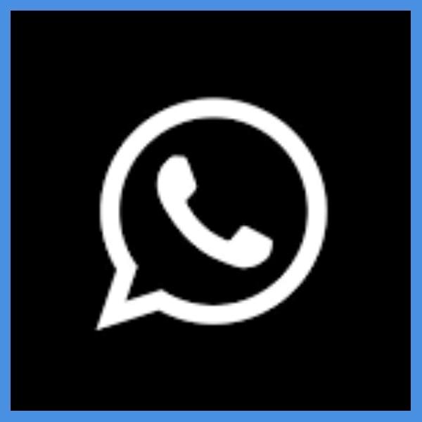 el truco para cambiar el logo de whatsapp a blanco con negro