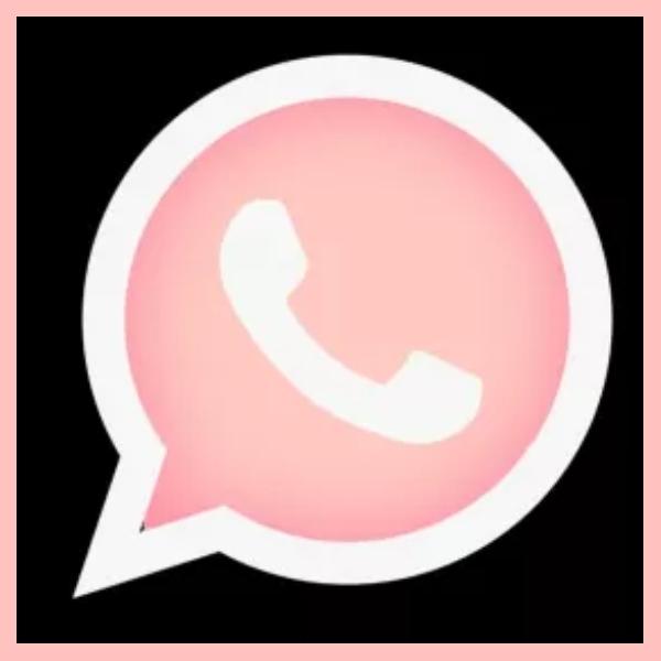 el truco para cambiar el logo de whatsapp a rosa