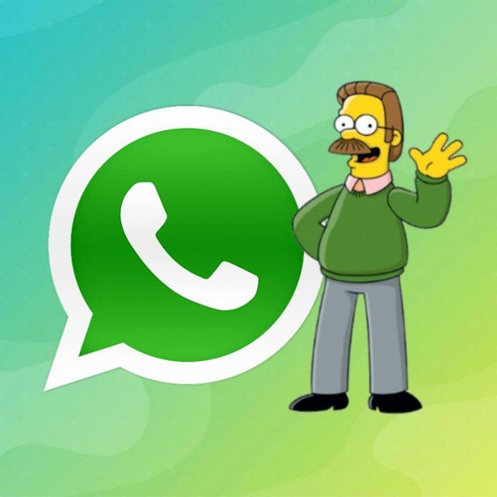 WhatsApp modo zurdo