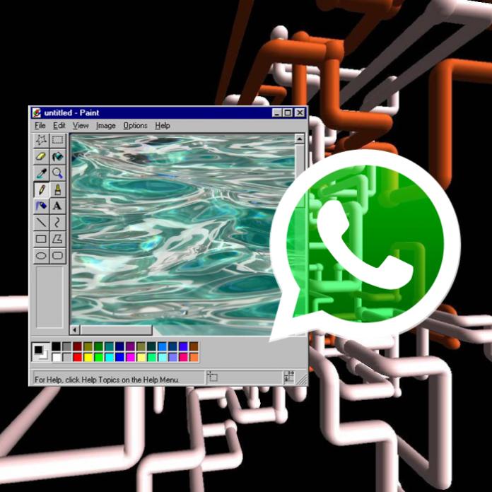 Extensión de Chrome Paint para WhatsApp Web