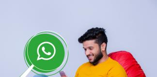WhatsApp nuevo buscador