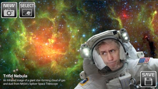 Cámara selfie Luna NASA proyecto Artemis