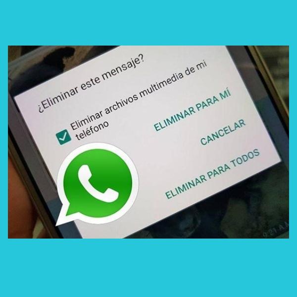 borrar mensajes de whatsApp despues del tiempo limite