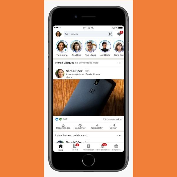 qué son las stories de LinkedIn, cómo funcionan