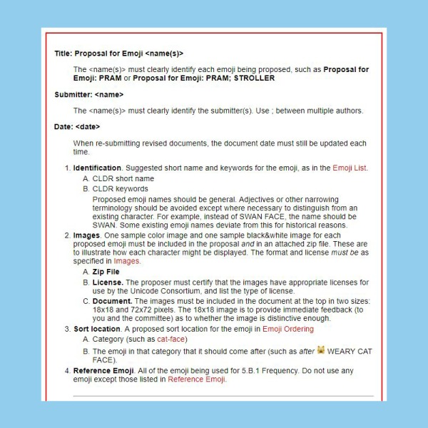 Texto de propuesta para creación de emoji de llama