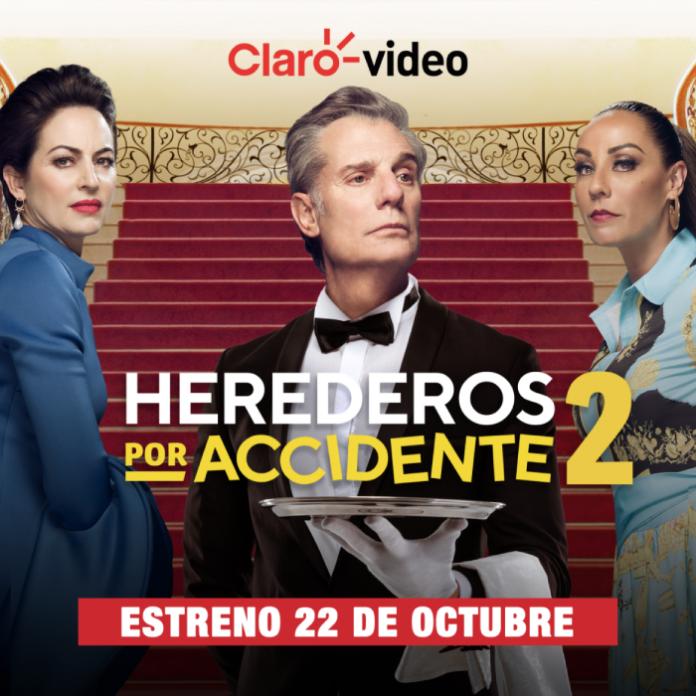 estreno de Herederos por Accidente 2 en Claro video