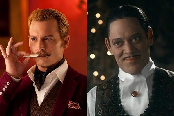 los Locos Addams cast Tim Burton Johnny Depp