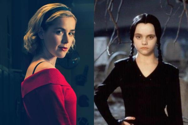 los Locos Addams cast Tim Burton Kiernan Shipka