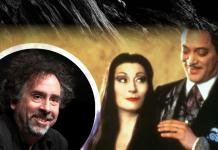 Tim Burton Los Locos Addams serie