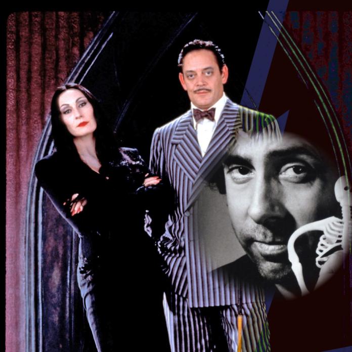 Los Locos Addams cast serie Tim Burton